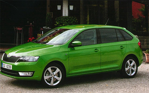 Хэтчбек Skoda Rapid Spaceback